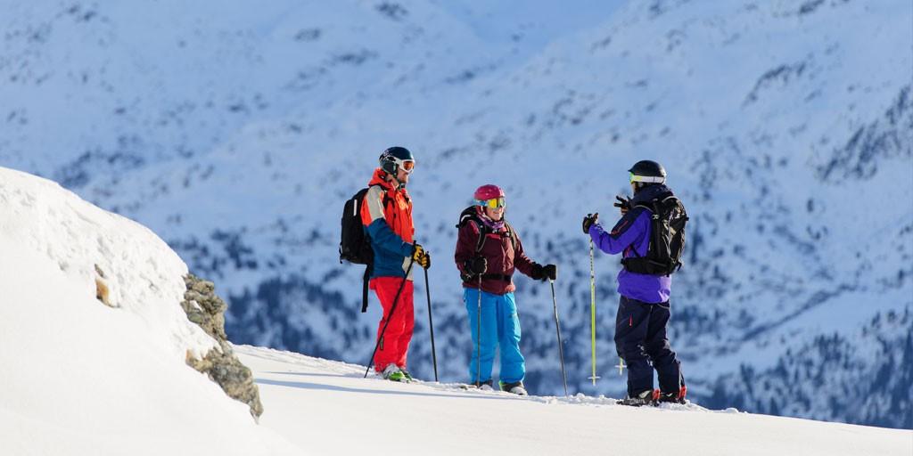 off piste ski school verbier