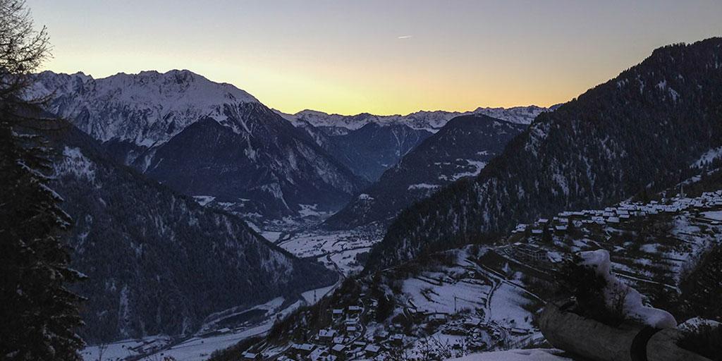 Heli ski trips in Verbier